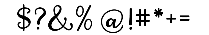 QualityCapcayBlack Font OTHER CHARS