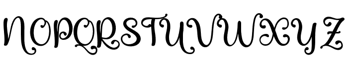 QualityCapcayBlack Font UPPERCASE