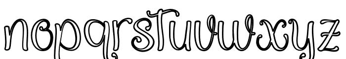 QualityCapcayBlackLine Font LOWERCASE