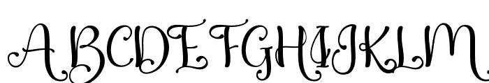 QualityCapcayBlacklight Font UPPERCASE