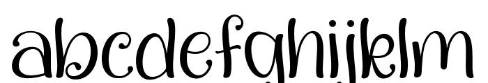QualityCapcayBlacklight Font LOWERCASE