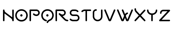 Quantum Bold Font UPPERCASE