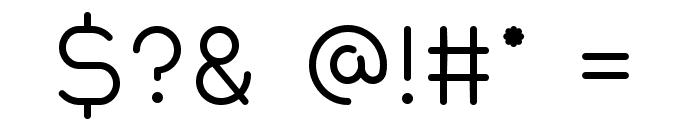 Quantum Font OTHER CHARS