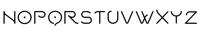 Quantum Font UPPERCASE