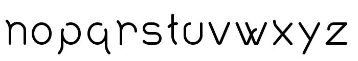 Quantum Font LOWERCASE