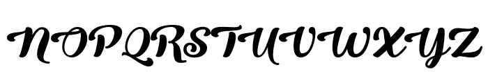 Queen of Heaven Font UPPERCASE