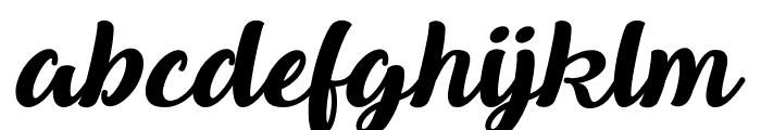 Queen of Heaven Font LOWERCASE