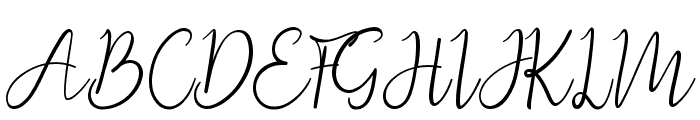 QueenofEternity Font UPPERCASE