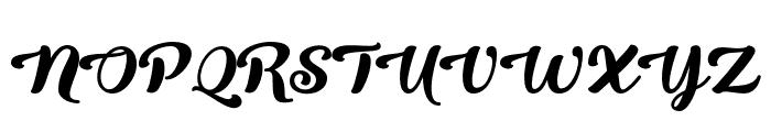 QueenofHeaven Font UPPERCASE