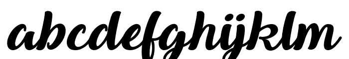 QueenofHeaven Font LOWERCASE
