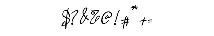 Quetzalli Font OTHER CHARS