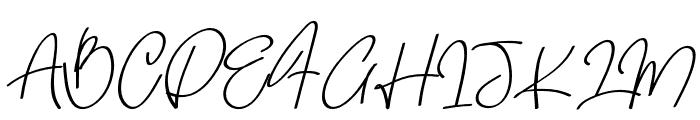 Quetzalli Font UPPERCASE
