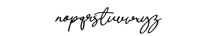 Quetzalli Font LOWERCASE