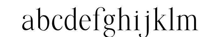 Quffer Font LOWERCASE