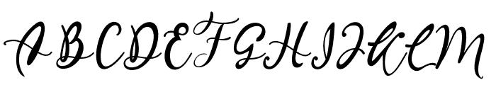 Quiche Font UPPERCASE