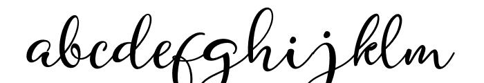 Quiche Font LOWERCASE