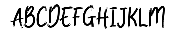 Quicky Font UPPERCASE