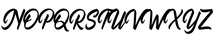 Quillain Font UPPERCASE