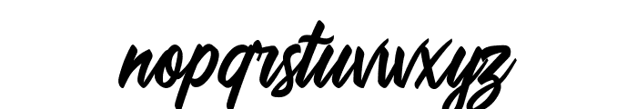 Quillain Font LOWERCASE