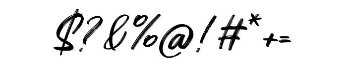 Quizine Regular Font OTHER CHARS