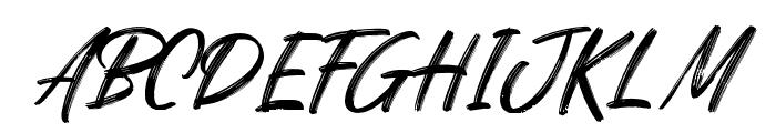 Quizine Regular Font UPPERCASE