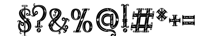 RELIC ISLAND FRAME Font OTHER CHARS