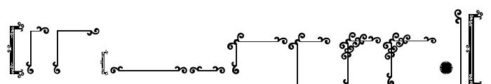 RELIC ISLAND FRAME Font UPPERCASE