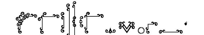 RELIC ISLAND FRAME Font LOWERCASE
