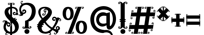 RELIC ISLAND MONOGRAM1 Font OTHER CHARS