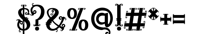 RELIC ISLAND2 Font OTHER CHARS