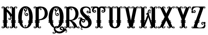 RELIC ISLAND2 Font LOWERCASE