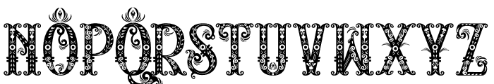 RELIC ISLAND Font UPPERCASE