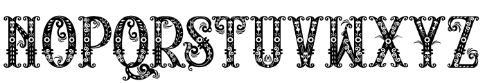 RELIC ISLAND Font LOWERCASE
