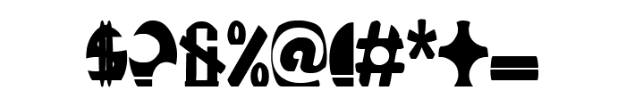 ROCKETBOSS Bold Font OTHER CHARS