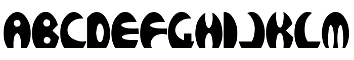 ROCKETBOSS Bold Font UPPERCASE