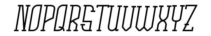Rachela Italic Font UPPERCASE