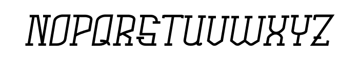 Rachela Italic Font LOWERCASE