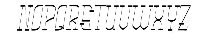 Rachela Vintage Italic Font UPPERCASE