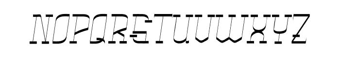 Rachela Vintage Italic Font LOWERCASE