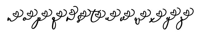 RachelaAlternatif1 Font LOWERCASE