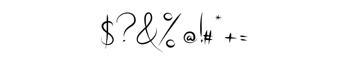 Radical Outcast Font OTHER CHARS