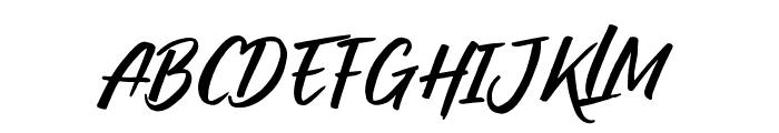 Raditya Font UPPERCASE