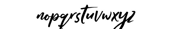 Raditya Font LOWERCASE