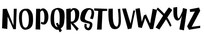 Radityacomic Font UPPERCASE