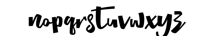 Radityacomic Font LOWERCASE
