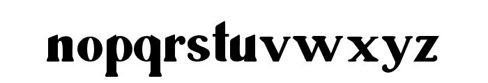 Ragila Font LOWERCASE
