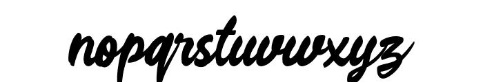 Rahayu Script Font LOWERCASE