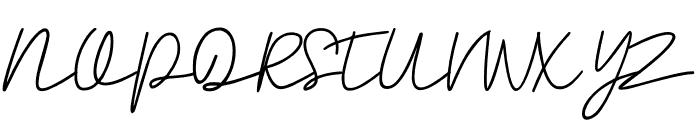 Rahayu Font UPPERCASE