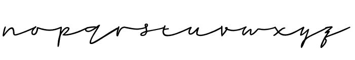 Rahayu Font LOWERCASE