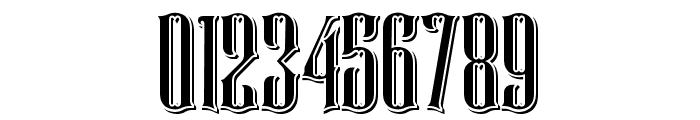 Rajawaley Drop Shadow Font OTHER CHARS